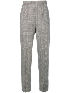 Moschino Pre-Owned check cropped trousers - PRINCE OF WALES
