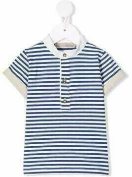 La Stupenderia striped crew-neck T-shirt - Blue