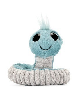 Jellycat snake soft toy - Blue