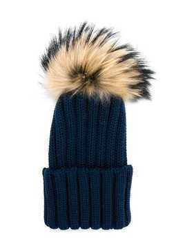 Catya Kids ribbed knitted hat - Blue