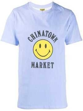 Chinatown Market branded T-shirt - Blue