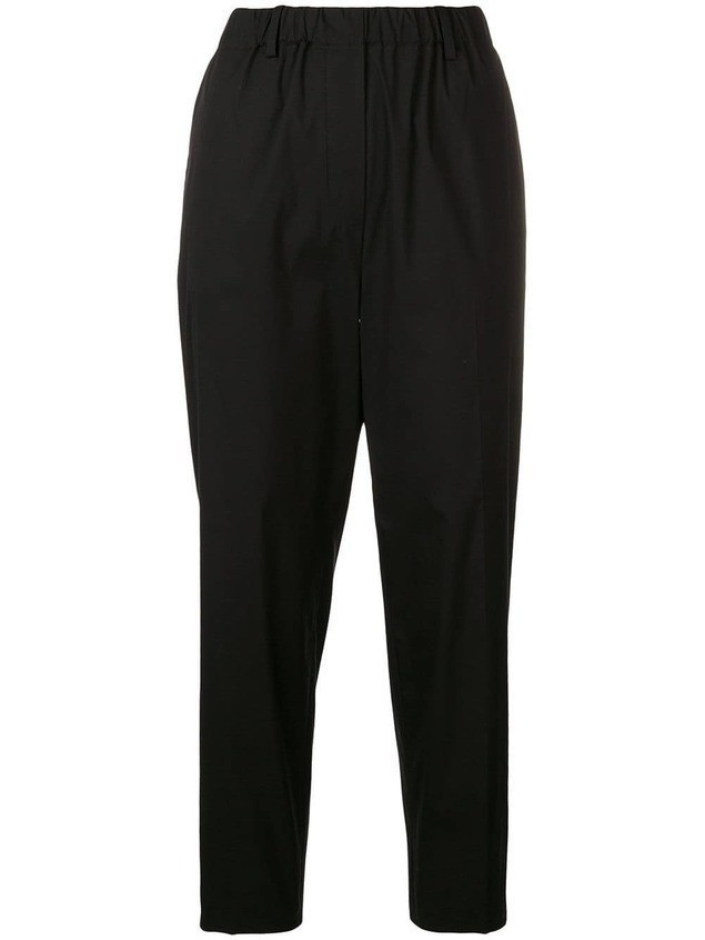 Antonelli cropped trousers - Black