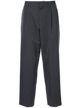 Kolor straight-leg tailored trousers - Grey