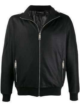 John Richmond zip-up jacket - Black