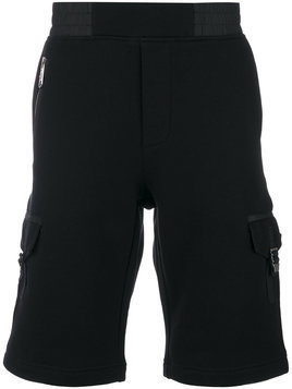 Versus - cargo shorts - Herren - Cotton/Polyester - XL - Black
