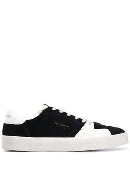 Moa Master Of Arts two-tone low-top trainers - Black