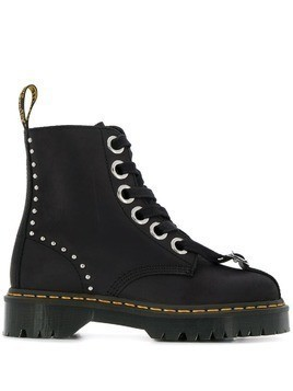 Dr. Martens lace-up combat boots - Black