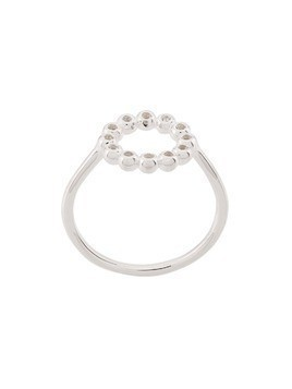 Astley Clarke Sapphire Beaded Stilla Arc ring - Silver
