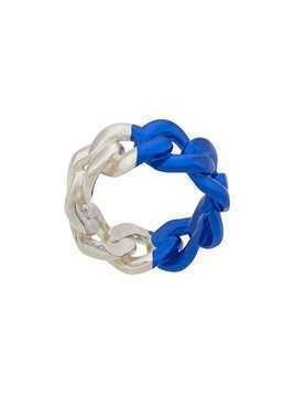 Maison Margiela chain ring - Blue