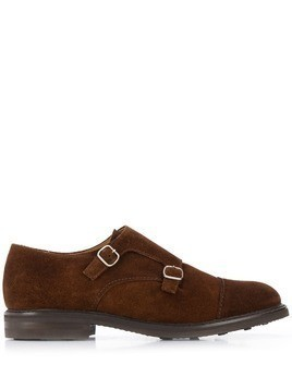 Berwick Shoes Marron monk shoes - Brown