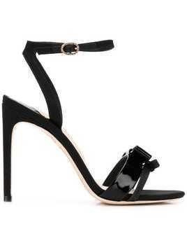 Sophia Webster bow detail sandals - Black