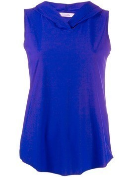 Dorothee Schumacher hooded tank top - Blue