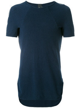 Bernhard Willhelm raglan sleeve T-shirt - Blue