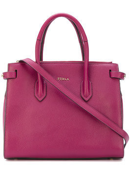 Furla Pin tote - Pink & Purple