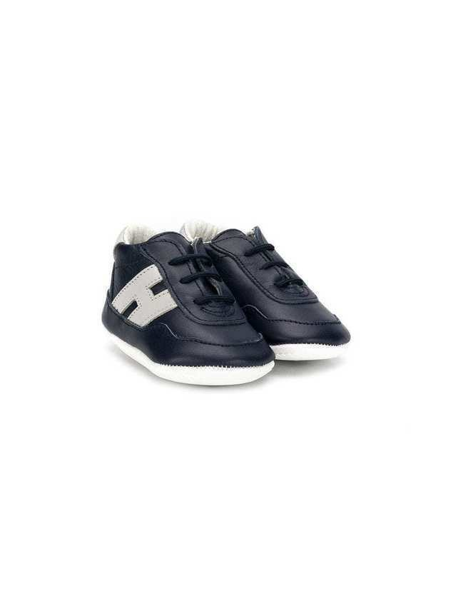 Hogan Kids lace up sneakers - Blue