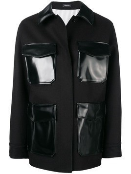 Jil Sander Navy contrast pockets jacket - Black