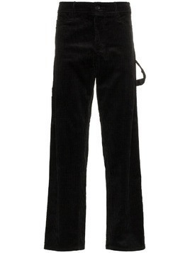 Ashley Williams corduroy work trousers - Black