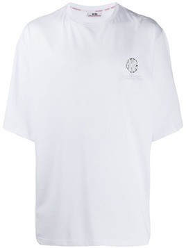 Gcds logo plaque T-shirt - White