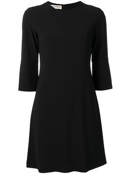 Blanca three-quarter sleeves dress - Black