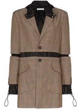 Delada hybrid blazer jacket - Brown
