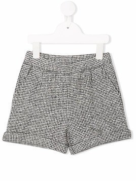 Douuod Kids fleece shorts - Grey