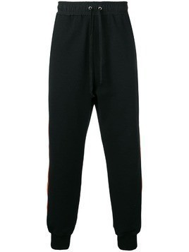 Damir Doma side stripe joggers - Black