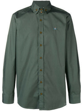 Vivienne Westwood classic collared shirt - Green