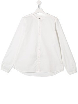 Touriste TEEN Mandarin collar shirt - White