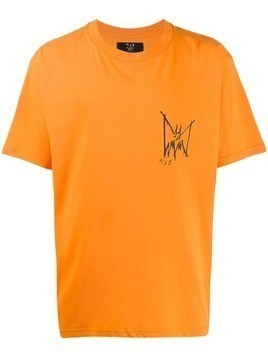 Mjb logo print T-shirt - Orange
