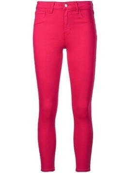 L'agence mid rise skinny jeans - Pink