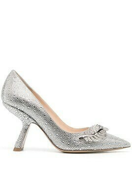 Nicholas Kirkwood MONSTERA 90mm pumps - Grey