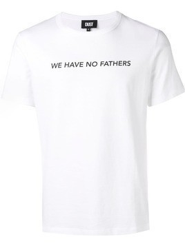 DUST 'We Have No Fathers' T-shirt - White