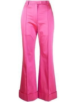 House of Holland tailored satin trousers - Pink