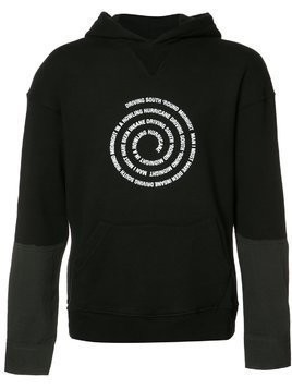 Midnight Studios Hybrid hooded sweatshirt - Black