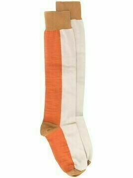 Marni colour-block socks - Brown