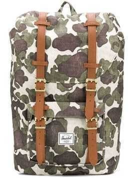 Herschel Supply Co. camouflage Little America backpack - Green