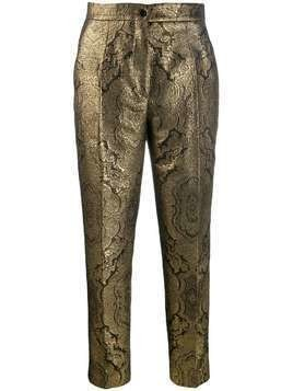 Etro baroque trousers - GOLD