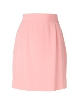Moschino Vintage classic a-line skirt - Pink&Purple