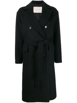 Mackintosh LAURENCEKIRK Black Wool & Cashmere Double Breasted Coat LM-1009F