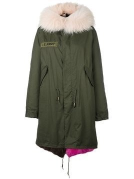 As65 fur lined parka - Green