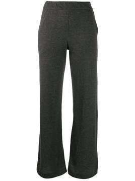 Majestic Filatures wide leg trousers - Grey