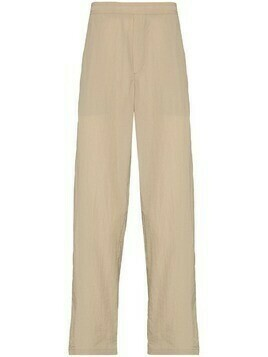 Soulland Erich straight-leg trousers - Neutrals