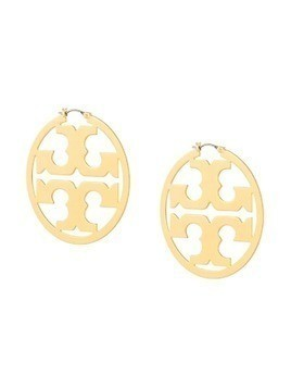 Tory Burch Miller hoop earrings - Gold