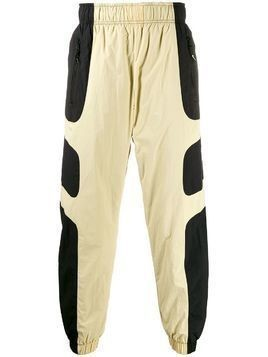 Nike two tone track trousers - NEUTRALS