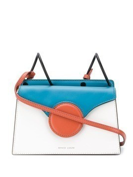 Danse Lente Phoebe colour block tote - Blue