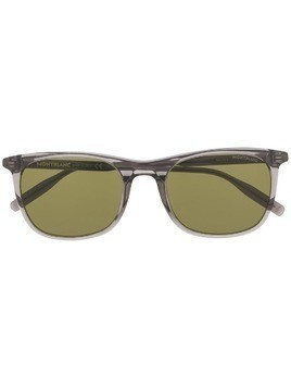 Montblanc square shaped sunglasses - Grey