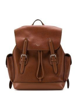 Mulberry Heritage textured backpack - Brown