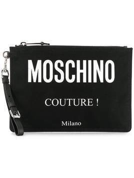 Moschino 'Moschino Couture!' clutch - Black