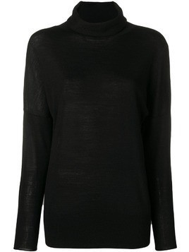 Hemisphere turtleneck sweater - Black