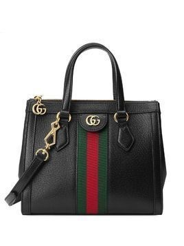 Gucci stripe detail tote bag - Black